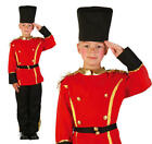 Childrens British Queens Guard Fancy Dress Costume Boys Soldier Outfit 3-10 Yrs