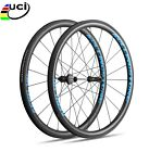 UCI Rolling Stone 40Aero High TG Carbon Road wheelset 700c 40mm clincher blue