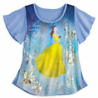Belle Beauty And The Beast Womens T-Shirt Fashion Top M , L - Disney Store- NWT