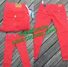 Mens True Religion Distress Colored Jeans Pants Brand New Free Shipping Stretchy