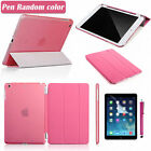 Slim Magnetic Smart Cover Stand Leather + Back Case for Apple iPad Mini 1 2 3 US