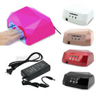 36W LED Nail Dryer Lamp Professional UV Gel Curing Light Machine Diamond Shape