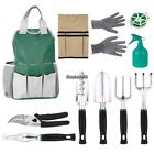 10 Sets Garden Hand Tools, Gardening Fun Durable, Heavy Duty Tool Set NEW