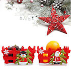 Christmas Home Decor Candy Fruits Storage Basket Box Container Xmas Gifts NEW