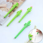 3 x 0.5mm Cute Cactus With Flower Gel Ink Pen Kawaii Plant Writing Pens