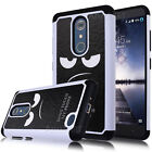 Angry Don't Touch My Phone Case Armor Hybrid Rubber Cover For ZTE Zmax Pro Z981