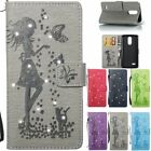 Wallet PU Leather Diamond Flip Credit Cards Case Cover For LG G4 G6 LS777 LS775