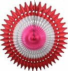 "21"" Tissue Paper Party Fans (3-pack) by Devra Party"