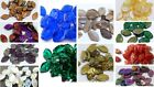 12 (mm) CZECH PRESSED GLASS DROP LEAF BEADS - CHOICE OF 23 COLOURS - 30PCS