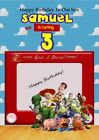 Personalised Toy Story Inspired Birthday / Greeting Cards  (various designs)