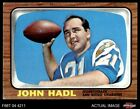 1966 Topps #125 John Hadl Chargers EX $8.5 USD