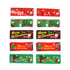 10pcs Merry Christmas Decor Stickers Adhesive Xmas Sticker DIY Diary 12 Styles