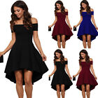 fashion dress - US Fashion Women Off Shoulder Short Sleeve Bodycon Dress Evening Party Cocktail