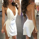 Sexy-v Summer Lady Bandage Bodycon Evening Cocktail Party Club Mini Short Dress