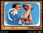 1966 Topps #119 Lance Alworth Chargers EX $27.0 USD on eBay