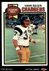 1979 Topps #499 Hank Bauer Chargers NM/MT $5.0 USD