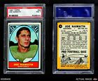 1967 Topps #98 Joe Namath Jets PSA 7 - NM