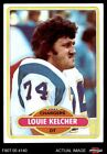 1980 Topps #412 Louie Kelcher Chargers NM/MT $0.99 USD