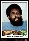 1975 Topps #335 Russ Washington Chargers EX $0.99 USD