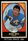 1967 Topps #125 Ron Mix -  Chargers EX/MT $14.5 USD