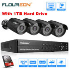 1TB HDD+8CH 1080P CCTV DVR 3000TVL Outdoor Cameras Home Security CCTV System Kit New