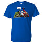 And That's How I Saved The World Jesus Superheros Christian T-Shirt NEW