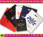 PRINTED CARRIER BAGS DESIGN PLASTIC QUALITY SHOPPING BAGS CARRIERS CUSTOM LOGO