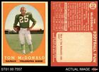 1958 Topps #126 Tom McDonald Eagles EX/MT
