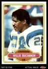 1980 Topps #149 Willie Buchanon Chargers NM/MT $0.99 USD on eBay