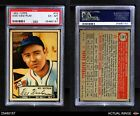 1952 Topps #75 Wes Westrum Giants PSA 6 - EX/MT