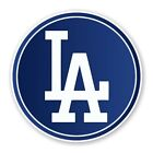 Los Angeles Dodgers Round Decal / Sticker Die cut on Ebay