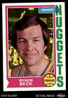 1974 Topps #264 Byron Beck Nuggets EX