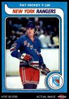 1979 Topps #86 Pat Hickey Maple Leafs EX