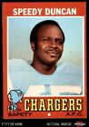 1971 Topps #148 Speedy Duncan Chargers EX/MT $1.8 USD on eBay
