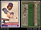 1976 Topps #645 Brewers EX