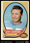 1970 Topps #23 Gary Garrison Chargers VG $0.99 USD