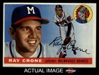 1955 Topps #149 Ray Crone Braves EX MT