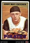 1967 Topps #379 Jerry May Pirates GOOD