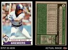 1979 Topps #408 Charlie Moore Brewers EX MT