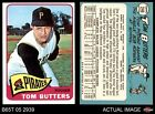 1965 Topps #246 Tom Butters Pirates EX