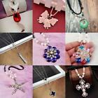 Birthday Chain Crystal Collar Pendant Charm Milky white Fashion Necklace Jewelry