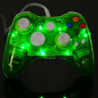 Glow Light USB Wired Wireless Gamepad Remote Console Controller for Xbox 360