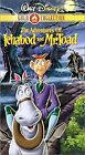 New The Adventures of Ichabod and Mr. Toad VHS Disney Gold Collection Sealed