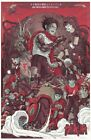 "Akira Red Fighting Japan Anime Silk Cloth Poster 20x13"" 47x24"" Decor 24"