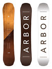 Arbor Snowboard - Coda Rocker Mid Wide - All Mountain, Wooden Top Sheet - 2018