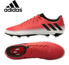 Adidas Messi 163 FG AG Soccer Cleats BA9020 Red Black Outdoor Cleats NEW