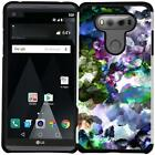 Marble Design Hybrid Case Dual Layers Protective Phone Cover for LG V20