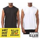 PROCLUB PRO CLUB MENS CASUAL SLEEVELESS T SHIRT PLAIN TANK TOP MUSCLE SHIRTS  image