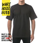 3 PACK PRO CLUB PROCLUB MENS T SHIRT SHORT SLEEVE SHIRTS HEAVY-WEIGHT PLAIN TEE