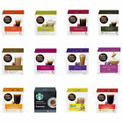 NESCAFE DOLCE GUSTO PODS: BOXES of 16 COFFEE & LATTE CAPSULES (YOU CHOOSE)
